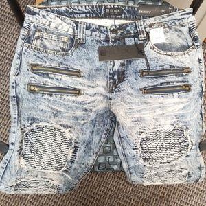 Rue 21 Black Premium Mens Skinny jeans